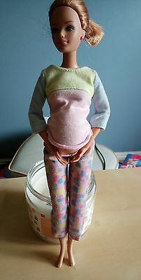 Barbie Doll House Happy Family - Pregnant Midge, Belly, Maternity Outfit