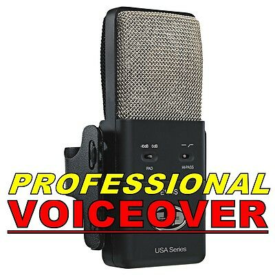 Professional Voiceover For Videos, Radio, Or Voicemail !!!