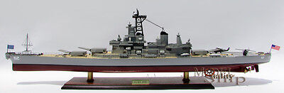 USS  NEW JERSEY(BB-622) Iowa Class -- Handcrafted War Ship Display Model NEW