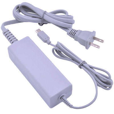Fast Charging AC Charger Home Power Supply Wall Plug for Nintendo Wii U Gamepad