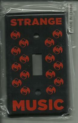 Tech9ne Strange Music Black & Red Toggle Light Switch Cover New Sealed