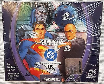 Vs System DC Superman - Man of Steel - Booster Box with 24 Packs - New/Sealed