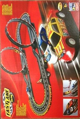 Fast Lane Racing Track Set. Electric Pro Car. Loop circuit.2 Cars & Controllers