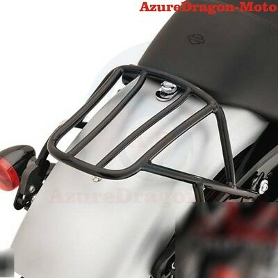 Solo Seat Luggage Rack For Harley Sportster XL883 XL1200 04-16 Iron883 09-16