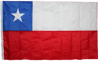 3x5 Chile Rough Tex Knitted nylon Flag 3'x5' Banner 100d