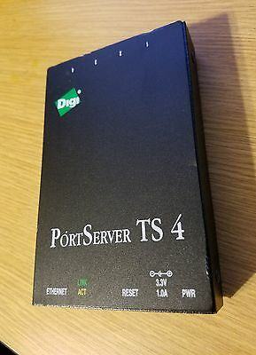 DIGI 50000723-03 PORTSERVER TS 4 Works Great