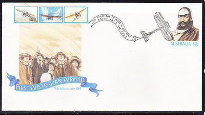 Australia 1989 First Airmail 75th Anniversary  Cover APM21430