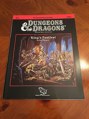 D&D - B11 King's Festival - Dungeons And Dragons - TSR - 9260