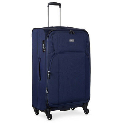 NEW Antler Airstream Navy 77cm soft Expandable Spinner luggage Case