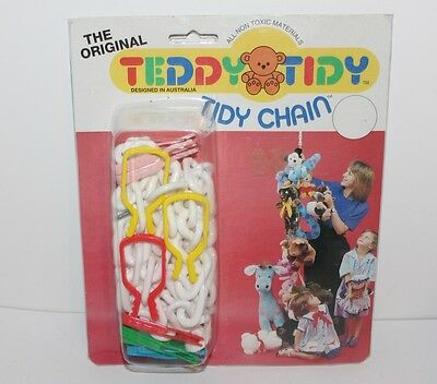 The Original Teddy Tidy Storage Chain Great For Hanging Soft Toys New 1985