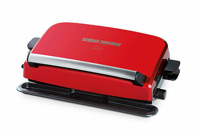 George Foreman Convertible Easy Clean Grill Sandwich Makers GRP10 FAST SHIPPING