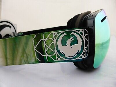 Dragon X1s Frameless Snow Goggles Dense - Smoke Gold Ion + Yellow Red Ion Lens