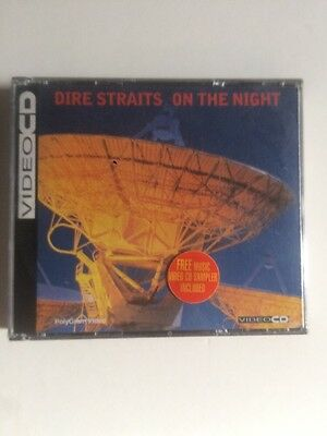 Dire Straits On The Night Video Cd Rare