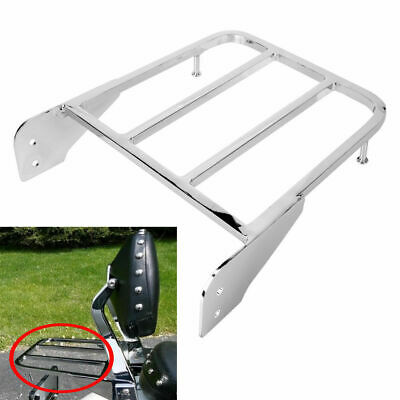 Chrome Luggage Rack Bar For Suzuki Boulevard M50 2005-2009 C50 2005-2011
