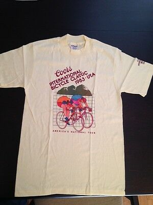 1983 Coors International Bicycle Classic T-Shirt Size M
