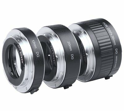Viltrox Auto Focus AF Macro Extension Tube Mount for Canon EF-S Lens Camera DSLR