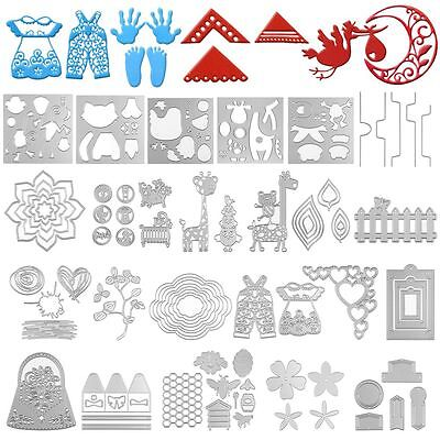 Metal DIY Cutting Dies Stencils Scrapbooking Embossing Album Paper Card Crafts