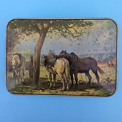 """VINTAGE PASCALL SWEETS CONFECTIONERY TIN """"Restful Shade"""" Claremont Tasmania"""