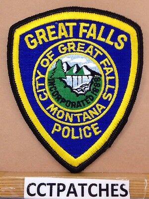 Great Falls, Montana Police Shoulder Patch Mt