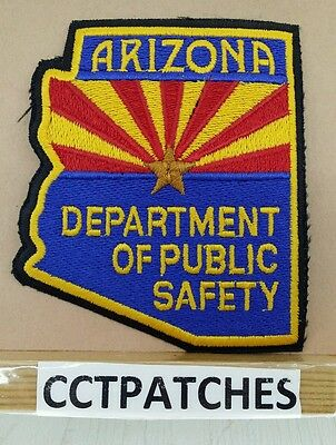 Arizona Department Of Public Safety (Police) Brown Star Shoulder Patch Az