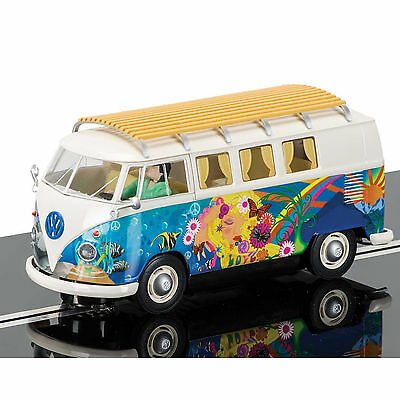 New Scalextric 1:32 Volkswagen Vw Kombi T1 B Camper Van Hippie C3761 Slot Car