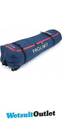 2017 Prolimit Golf Travel Light Kitebag with Removable Wheels Blue / Red 150x45
