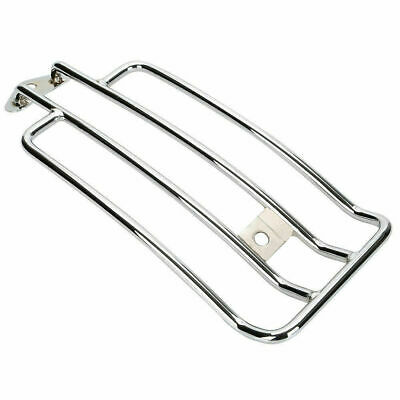 "6"" Chrome Solo Seat Luggage Rack For Harley Sportster XL Models 1985-2003"