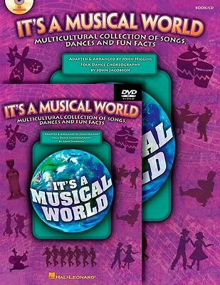 Hal Leonard It's a Musical World Multicultural Songs, Dances and Fun Facts CR