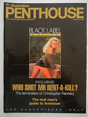March 1993 Black Label Australian Penthouse Magazine - Subscriber Only Edition
