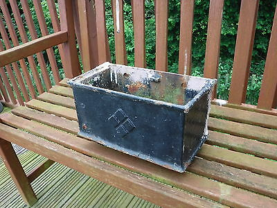 Vintage  Cast Iron Rain Water Hopper.  Ideal  Planter.