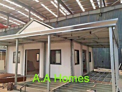 Angeli - Class 1A Granny Flat 37m2 with 2400mm ceiling height and Roof kit