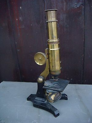 RRR RARE Original Antique Small  Microscope 19th Century