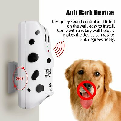 Ultrasonic Humanely Anti No Bark Control Device Stop Dog Barking Silencer Hange