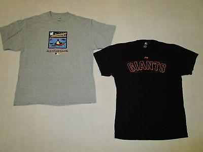 San Francisco Giants T-Shirt  MLB Baseball Allstar 2007 Lincecum Lee Majestic XL