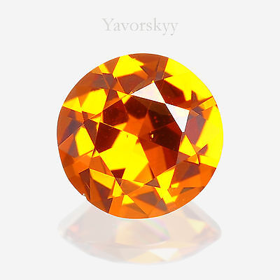 Vivid Orange Mandarin Garnet Natural Yavorskyy-cut 0.73 ct