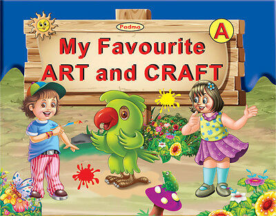 Soft Cover Primary School My Favourite Art&Craft Book,32 Pages Educational-AB1A