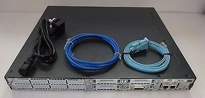CISCO2811 with WIC-1T. 256/64MB. CCNA CCNP. FREE UK SHIPPING-30 DAY WARRANTY.