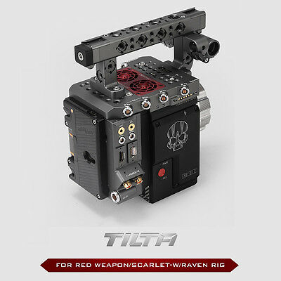 TILTA ESR-T01-A Cage Camera Rig RED I/O module RED WEAPON RAVEN SCARLET-W Epic-W
