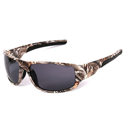 Men Polarized Camouflage Sunglasses Forrest Camo Outdoor Sports Fishing Glasse