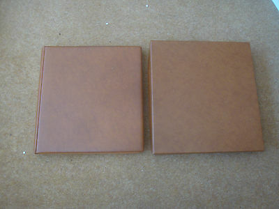1970-81 Lindner Hingeless Album with slipcase - excellent condition - rf150