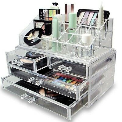 Espositore Trucco Organizer Porta Cosmetici Box Make Up Rossetto *l*
