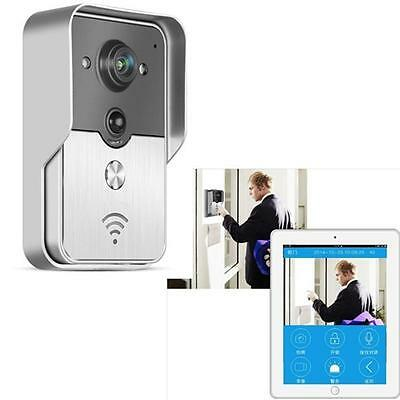 WiFi HD Video Camera Doorbell Real-time Remote Intercom IR-Cut For Home Store