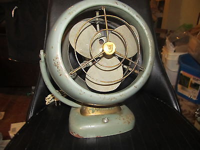 Vintage Vornado Fan model D16C1 SINGLE SPEED SMALL BUT MIGHTY