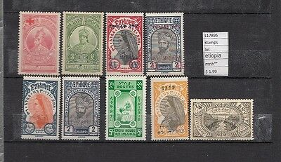 Stamps Lot Ethiopia   Mnh**  (L17895)