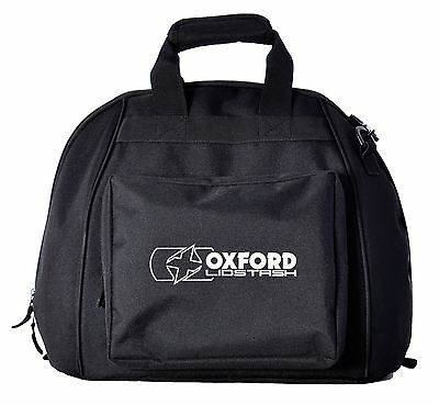 Oxford Lidstash Water Resistant Motorcycle Scooter Helmet Bag Quilted Liner