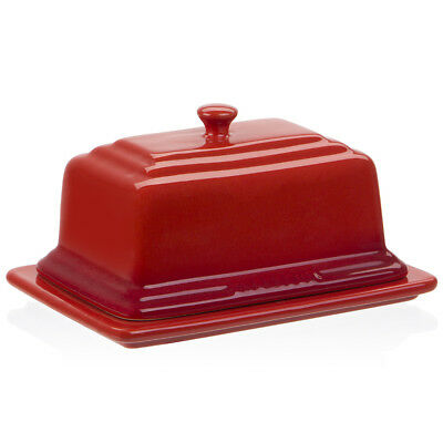 NEW Chasseur La Cuisson Red Butter Dish
