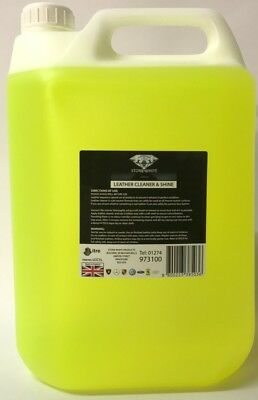 heavy duty leather cleaner stone white 5 litre