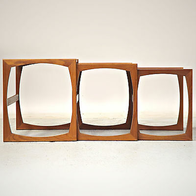 Nest of Tables / Coffee Table Set - G Plan, Teak, Retro, Vintage, 1960s