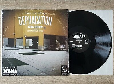 Awon & Dephlow: Dephacation ~ Sergent Limited Edition Vinyl LP ~ Hip Hop