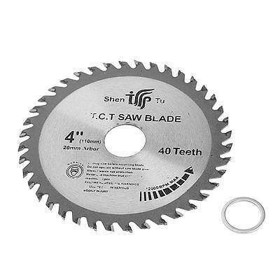 4 inch 40T Circular Sawing Blade Wood Cutting Round Discs Sawing Cutter Tool